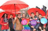 Members of Kirmizi Semsiye (Red Umbrella Sexual Health and Human Rights Association, Turkey) at 8th of March International Women's Day's protests. Photo credit: Red Umbrella Sexual Health and Human Rights Association, Turkey