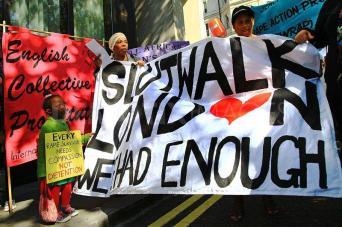 English Collective of Prostitutes at Slut Walk 2012 in London. Photo: http://www.demotix.com/news/1470705/slutwalk-london-2012#media-1470838