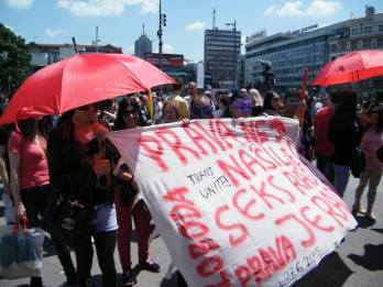 Sloboda Prava, Serbia protesting